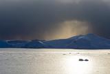 Icebergs in Ilulissat Icefjord, an UNESCO World Heritage Site Photographic Print by Sergio Pitamitz