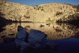 Coyote Lake a High Sierra Lake in Golden Trout Wilderness at Sunrise Photographic Print by Macduff Everton