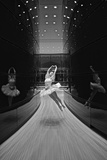 A Ballerina Dancing in the New Edward P. Evans Hall at Yale University Photographic Print by Kike Calvo