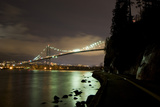The Lions Gate Bridge, Which Crosses the Burrard Inlet from Stanley Park to North Vancouver Photographic Print by Paul Colangelo