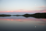 The Still Water Mimics the Sky's Painted Hues Photographic Print by Robbie George