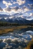 Grand Tetons and Snake River, Late Afternoon Photographic Print by Macduff Everton