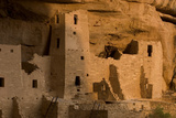 The Ruins of a Cliff Dwelling, Cliff Palace, in Mesa Verde National Park Photographic Print by Phil Schermeister