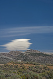 A Lenticular Cloud Hovers over the Mono Inyo Craters Photographic Print by Gordon Wiltsie