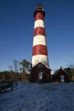 Assateague Light in Winter Photographic Print by Macduff Everton