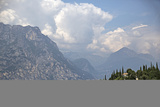 Lake Garda Near Malcesine Photographic Print by Ulla Lohmann