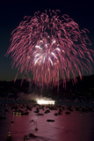 Fireworks Burst over Boats in English Bay During the Annual Celebration of Lights Photographic Print by Paul Colangelo