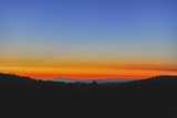 Sunset Glows over the Western Foothills of California's Sierra Nevada Mountains Photographic Print by Gordon Wiltsie