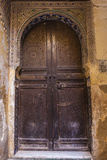 A Wooden Doorway in the Medina of Fez Photographic Print by Richard Nowitz