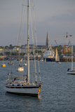 Harbour at Dun Laoghaire, a Suburb of Dublin Photographic Print by Tim Thompson