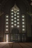 Interior Door and Window at the Hassan Ii Mosque, Casablanca, Morocco Fotografisk tryk af Richard Nowitz