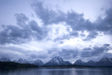 Jackson Lake and the Teton Range in Grand Teton National Park Photographic Print by Phil Schermeister