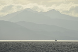 A Small Commercial Fishing Boat in the Waters Off of Catherine Island Photographic Print by Jonathan Kingston