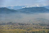 Kathmandu Valley Seen from the Top of Hatiban Resort Photographic Print by Alex Treadway