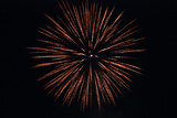 Fourth of July Fireworks Explode in the Sky in Norwich Photographic Print by Donna O'Meara