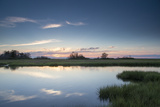 All Is Calm at the Marsh on a Summer Evening Photographic Print by Robbie George