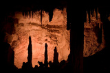 Rock Formations Inside Lehman Caves in Great Basin National Park Photographic Print by Phil Schermeister