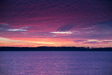 Sunset over Lake Mattamuskeet Photographic Print by Robbie George