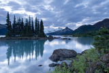 Battleship Islands in the Glacial Garibaldi Lake in Garibaldi Provincial Park Photographic Print by Paul Colangelo