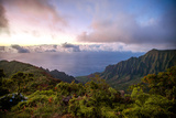 The Kalalau Valley at Sunset Photographic Print by Ben Horton