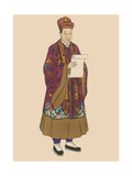 Taoist Priest Giclee Print by  Science Source