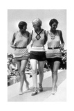 Women's Swimwear, 1928 Reprodukcja zdjęcia autor Science Source