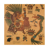 Quetzalcoatl, Aztec Creator Deity Giclee Print by  Science Source