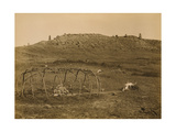 Cheyenne Indian Sweat Lodge Frame, 1910 Photographic Print by  Science Source