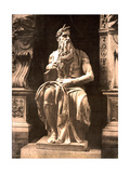 Michelangelo's Moses, 1890s Photographic Print by  Science Source