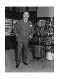 Mihajlo Idvorski Pupin, Serbian Physicist Photographic Print by  Science Source