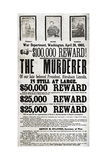 Wanted: John Wilkes Booth Giclee Print by  Science Source