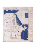 Ptolemy's Map of the Nile, 2nd Century Lámina giclée por  Science Source