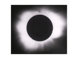 Solar Eclipse with outer Corona Photographic Print by  Science Source