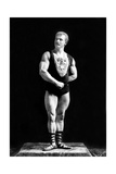 Eugen Sandow, Father of Modern Bodybuilding Reproduction photographique par  Science Source
