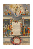 Mercator's Atlas, 1633 Giclee Print by  Science Source