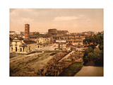 Roman Forum, 1890s Photographic Print by  Science Source
