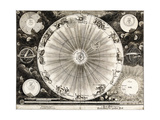 Copernican Astronomy, 1732 Giclee Print by  Science Source