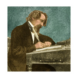 Charles Dickens, English Author Giclee Print by  Science Source