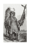 Mato-tope, Mandan Chief Giclee Print by  Science Source