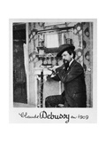 Claude Debussy, French Composer Giclee Print by  Science Source