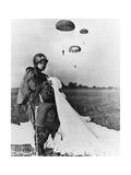 Science Source - Paratrooper Training Fotografická reprodukce