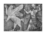 Battle Between Marduk and Zu Photographic Print by  Science Source