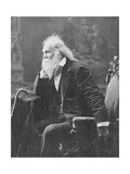 Walt Whitman, American Poet Photographic Print by  Science Source