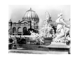 Fountain Coutan and Palace of Fine Arts, 1889 Photographic Print by  Science Source