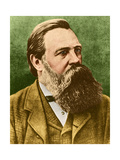 Friedrich Engels, Father of Communism Giclee Print by  Science Source