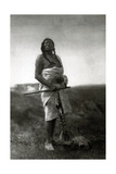 Slow Bull, Ogala Sioux Medicine Man, 1907 Photographic Print by  Science Source