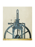 Large Double-Chamber Steam Engine, 19th century Giclee Print by  Science Source