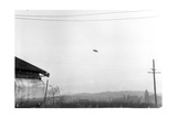 McMinnville UFO Sighting, 1950 Photographic Print by  Science Source