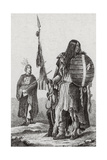 Assiniboine Indians Giclee Print by  Science Source