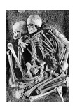 Grimaldi Skeletons Photographic Print by  Science Source